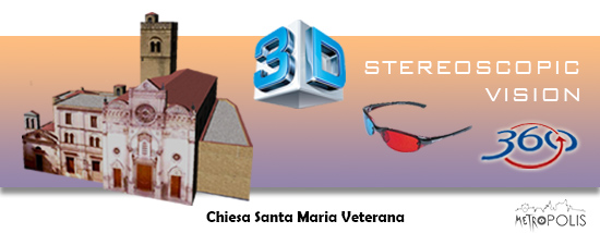stereoscopic panoramic virtual tour